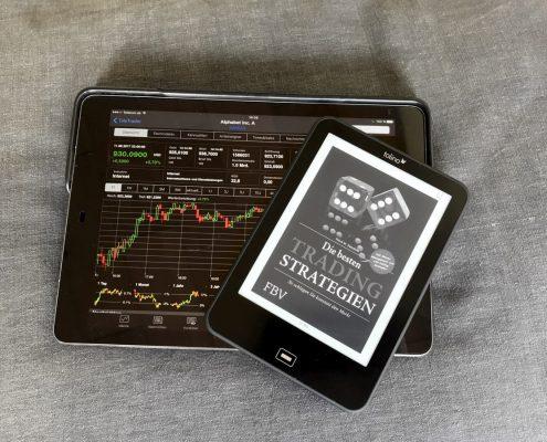 Rezension Die besten Tradingstrategien von Pierre M. Daeubner (Buchcover)