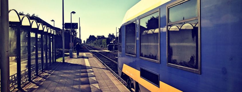 NordWestBahn im Bahnhof