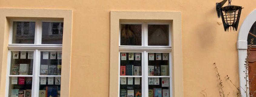 Fensterfront Buchladen